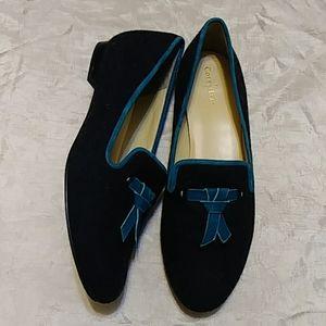 Cole Haan Sabrina Tassel Wool Loafers